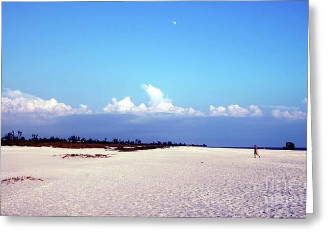 Bowman's Beach Greeting Card by Kathleen Struckle