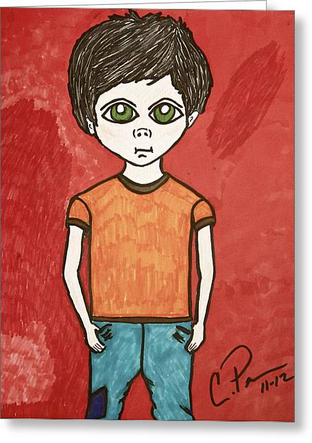 Boy Greeting Card