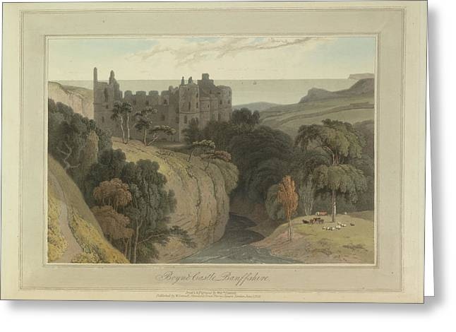 Boyne Castle Greeting Card by British Library