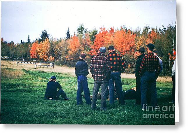 Boys Afternoon. Greeting Card