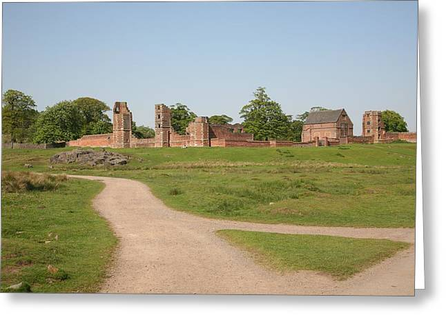 Bradgate Park House Greeting Card by Mark Severn