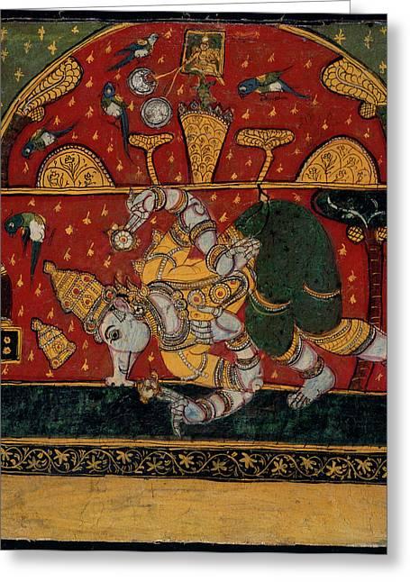 Brahmanical Pagoda Greeting Card