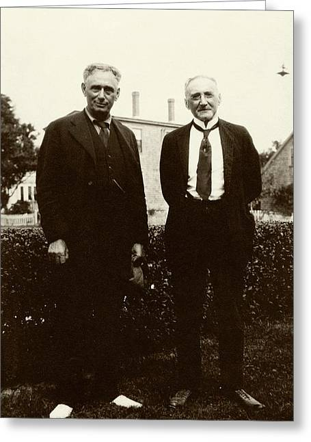 Brandeis And Loeb Greeting Card