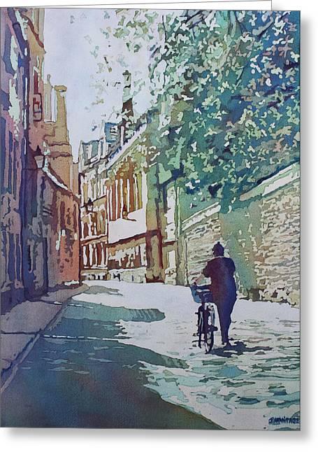 Brasenose Lane Greeting Card