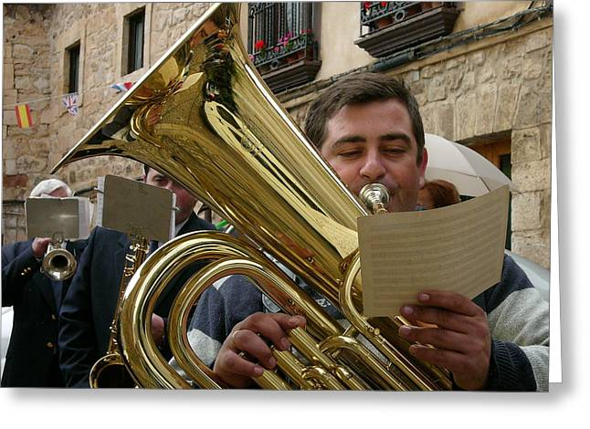 Brass Band-trombone Greeting Card