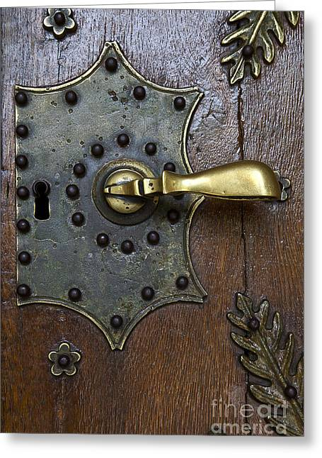 Brass Handle Greeting Card