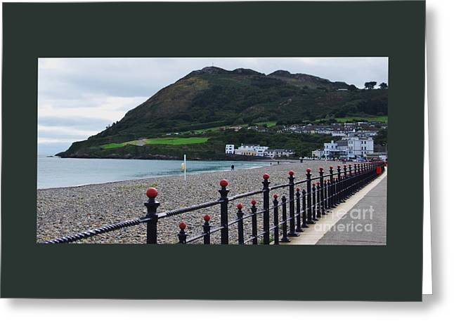 Bray Seafront Ireland Greeting Card by Marcus Dagan