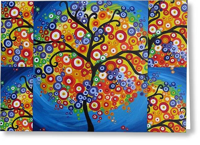 Brazil -tree Of Life Greeting Card