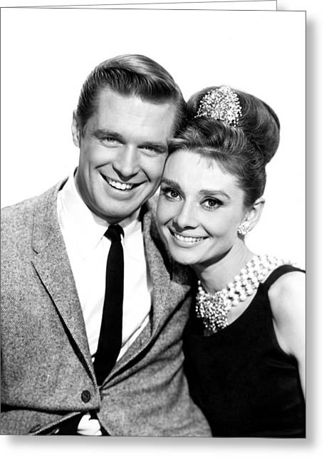 Breakfast At Tiffany's  Greeting Card by Silver Screen