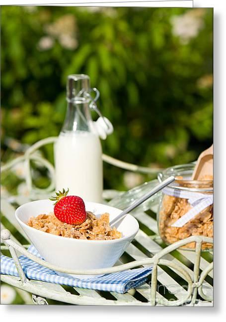 Breakfast Dining Greeting Card