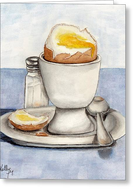 Breakfast Is Ready Greeting Card