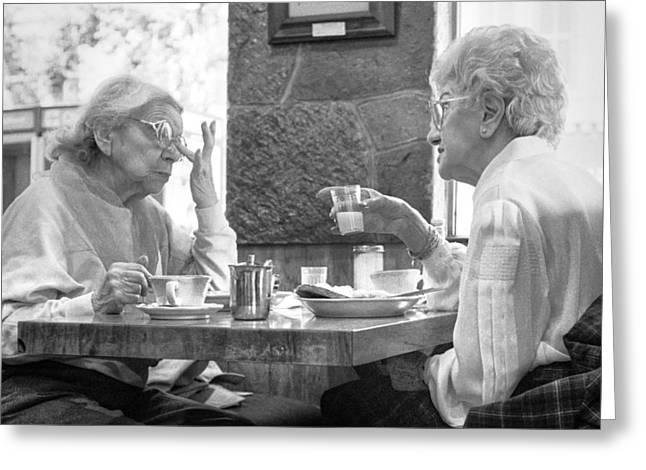 Breakfast Ladies Greeting Card