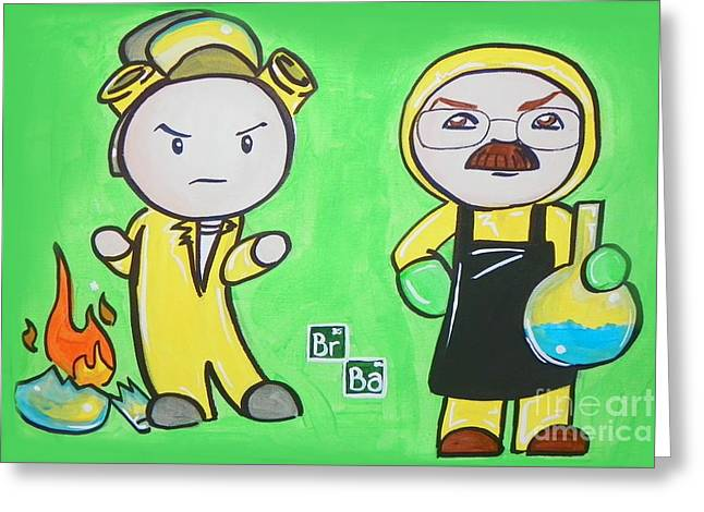 Breaking Bad Broken Greeting Card