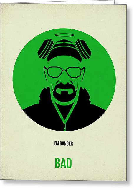Breaking Bad Poster 2 Greeting Card by Naxart Studio