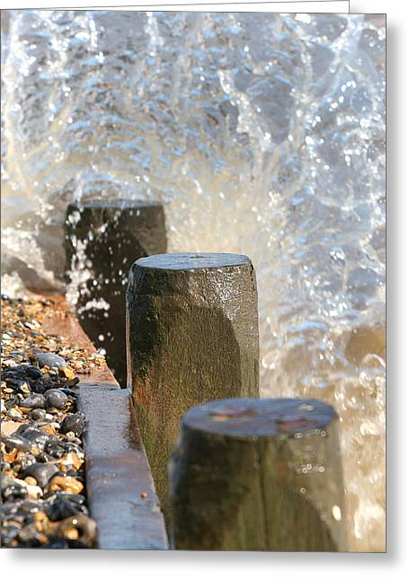 Breaking Point 2 Greeting Card by Paul Lilley