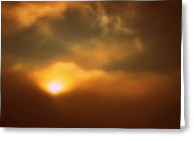 Breaking Through Greeting Card by Shirley Sirois