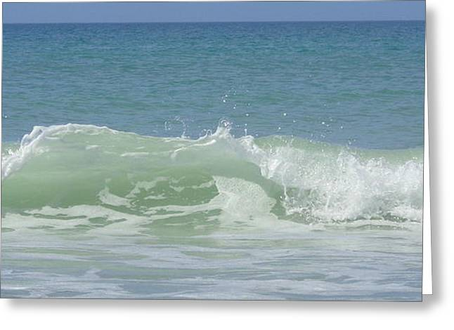 Breaking Waves Greeting Card
