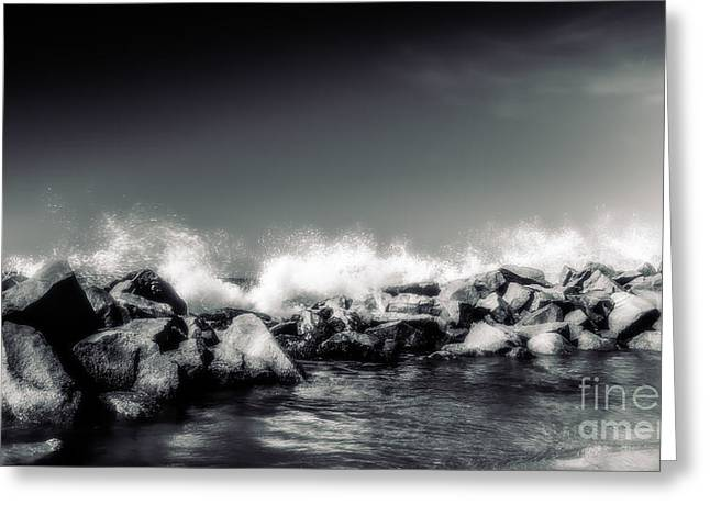 Breakwater Dreams Greeting Card