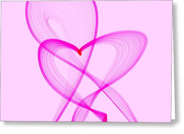 Breast Cancer Awareness . Love Greeting Card