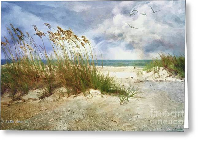 Greeting Card featuring the photograph Breathe by Linda Blair