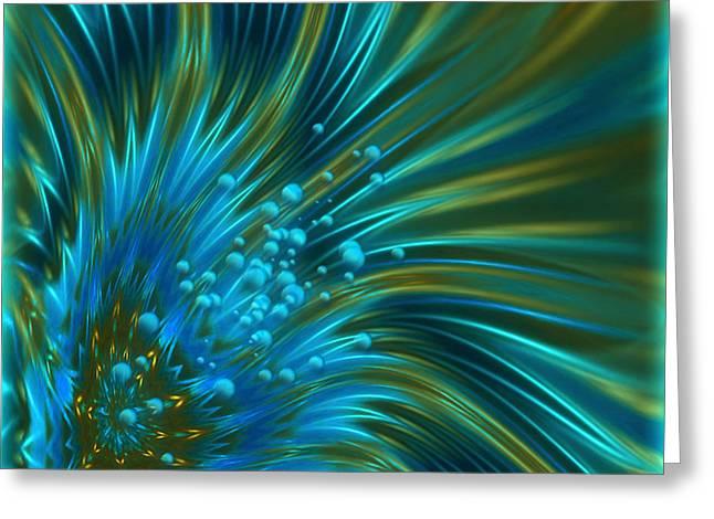 Greeting Card featuring the digital art Breather - Fantasy Art By Giada Rossi by Giada Rossi