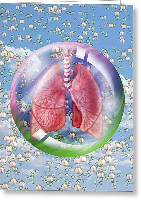Breathing Greeting Card
