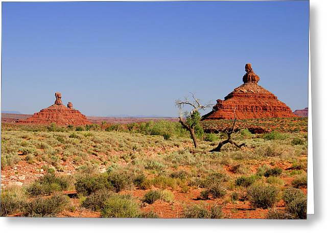 Breathtaking Valley Of The Gods Greeting Card