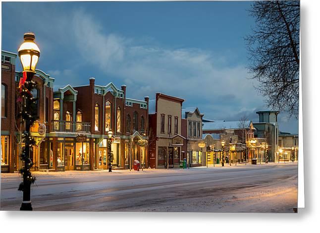 Breckenridge Main Street Greeting Card
