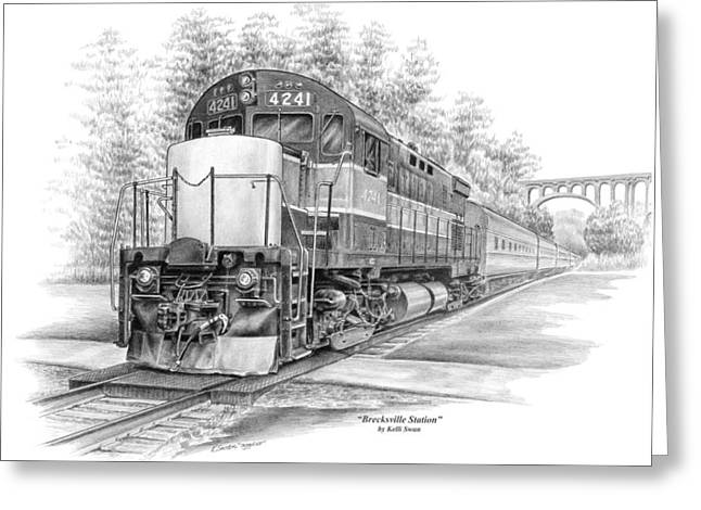Brecksville Station - Cuyahoga Valley National Park Greeting Card by Kelli Swan