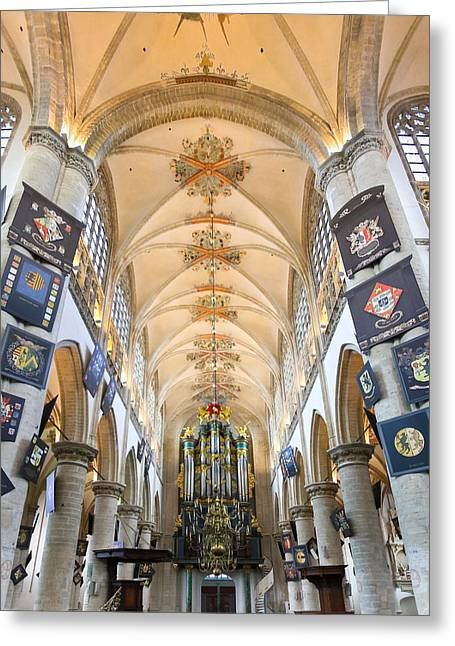 Breda Cathedral Greeting Card