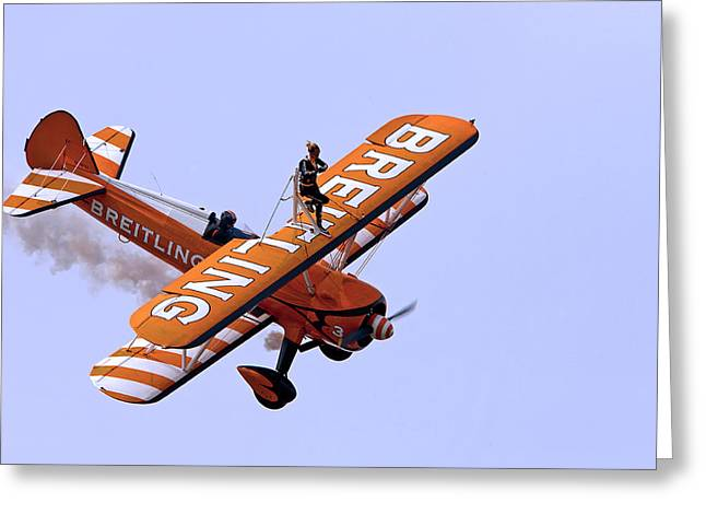 Breitling Wingwalker Greeting Card
