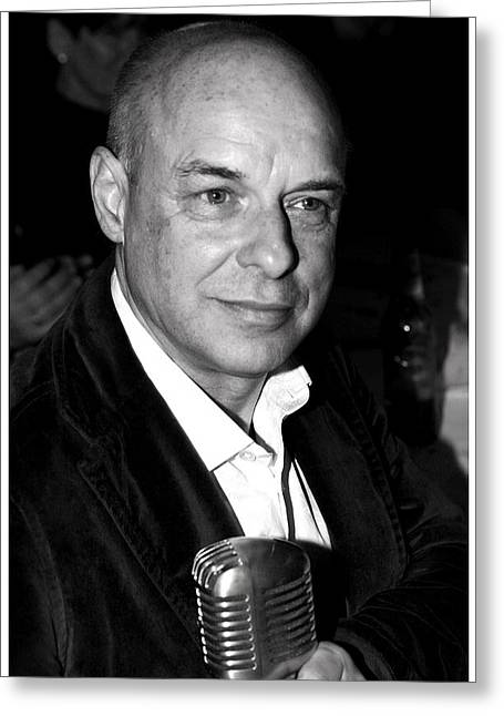 Brian Eno Greeting Card