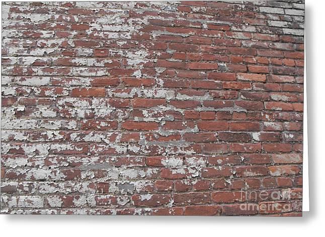 Bricks Greeting Card by Erick Schmidt
