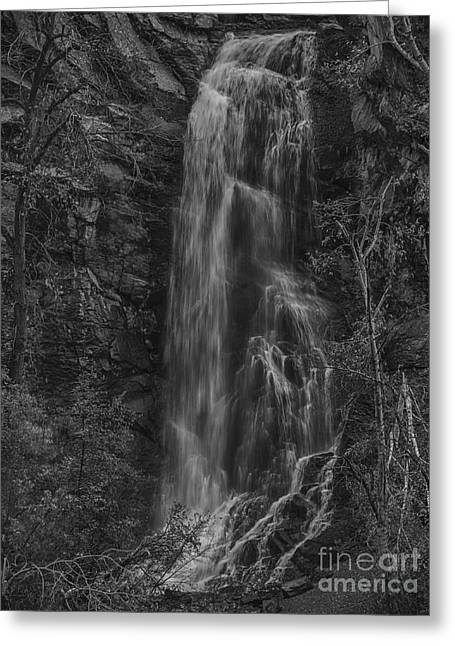 Bridal Veil Falls At Spearfish Canyon South Dakota Greeting Card