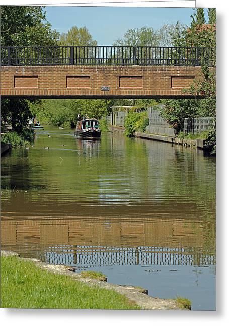 Bridge 238b Oxford Canal Greeting Card