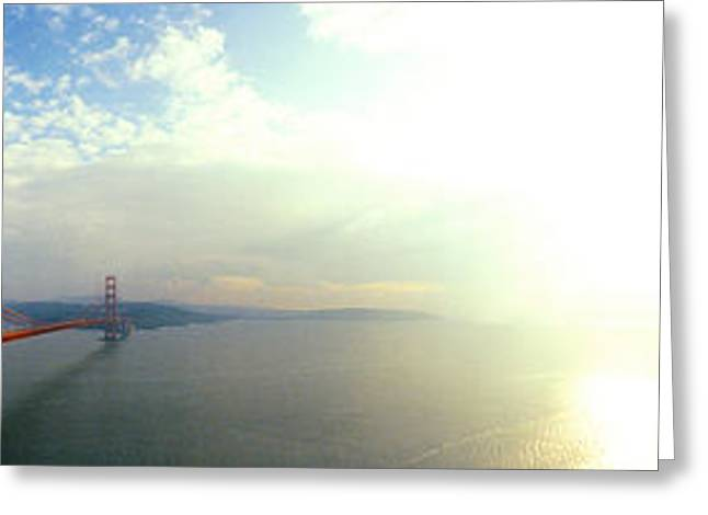 Bridge Across The Bay, Golden Gate Greeting Card