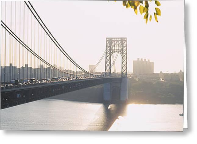 Bridge Across The River, George Greeting Card