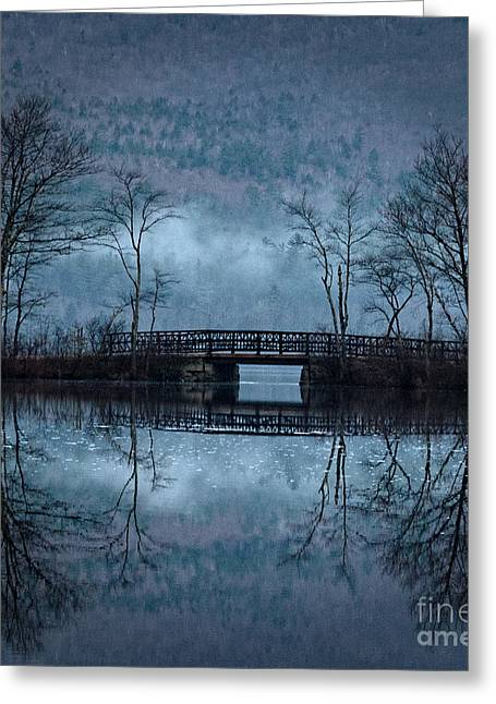 Bridge At Chocorua Greeting Card