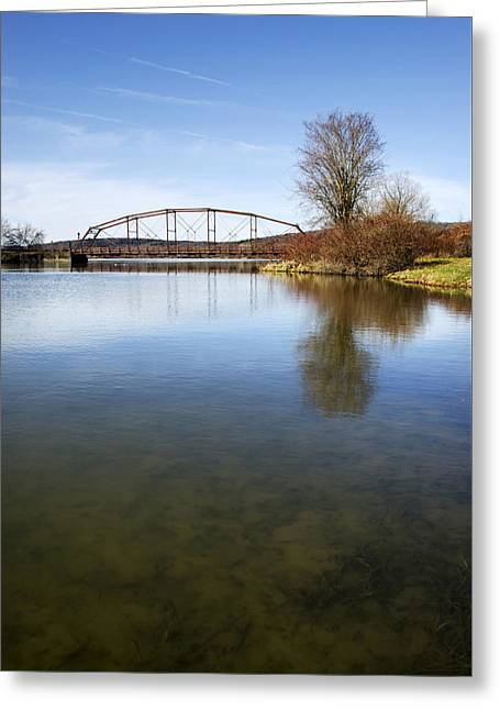 Bridge At Upper Lisle Greeting Card
