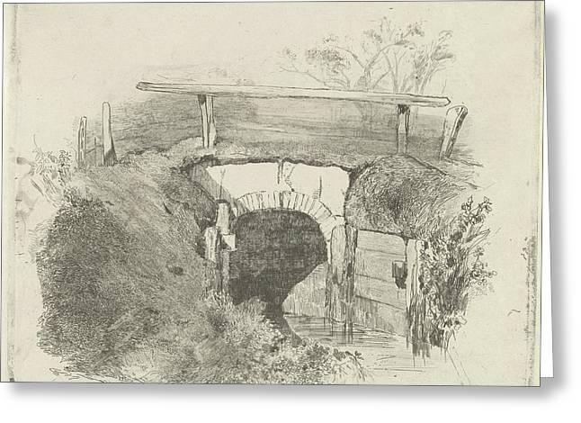 Bridge, Charles Rochussen Greeting Card by Charles Rochussen