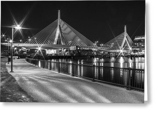 Bridge In Boston Greeting Card