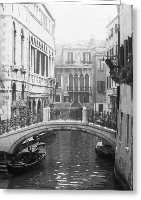 Bridge In Venice Greeting Card by Dorothy Berry-Lound