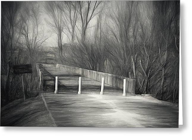Bridge Of No Return Greeting Card