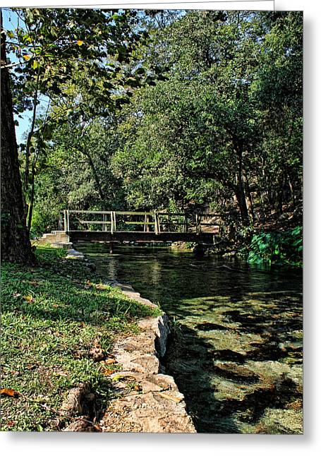 Bridge Of Serenity Greeting Card