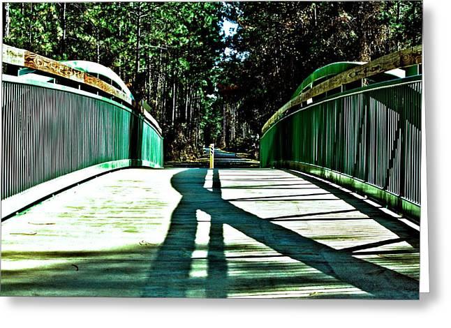 Bridge Of Shadows Greeting Card