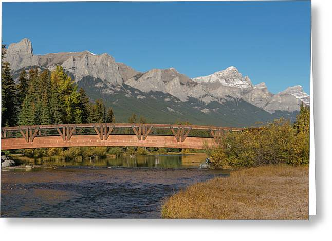 Bridge On Policemans Creek, Rundle Greeting Card
