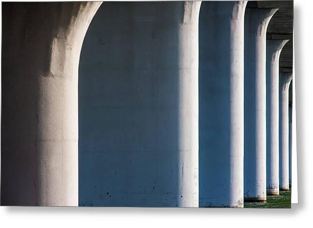 Bridge Patterns 1 Greeting Card