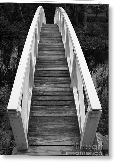 Bridge Perspective - Somesville Greeting Card