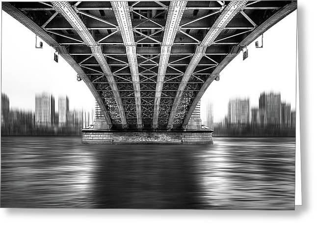 Bridge To Another World Greeting Card