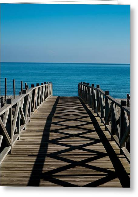 Bridge To Med Greeting Card